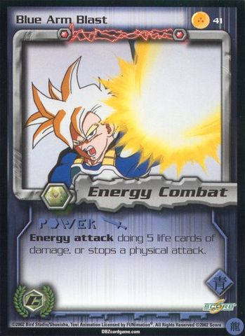 Blue Arm Blast