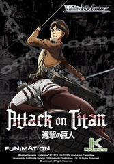 Attack on Titan Booster Box Weiss Schwarz TCG