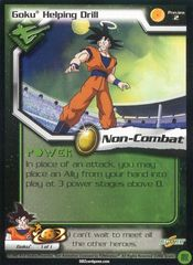 Goku Helping Drill