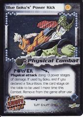 Blue Goku's Power Kick
