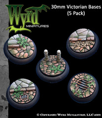 30mm Victorian Bases (5 Pack)
