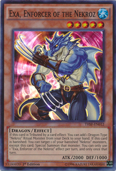 Exa, Enforcer of the Nekroz - THSF-EN012 - Super Rare - Unlimited Edition on Channel Fireball