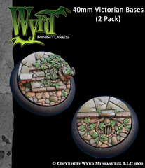 40mm Victorian Bases (2 Pack)