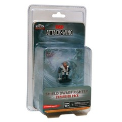 Attack Wing: Dungeons and Dragons - Wave Six Shield Dwarf Fighter Expansion Pack