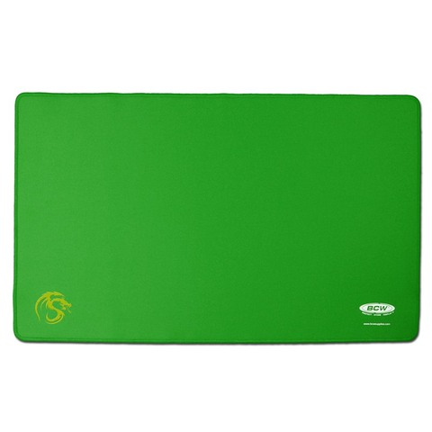 BCW Stitched Gaming Playmat - Green