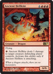 Ancient Hellkite - 2011 Core Set Release Promo Foil