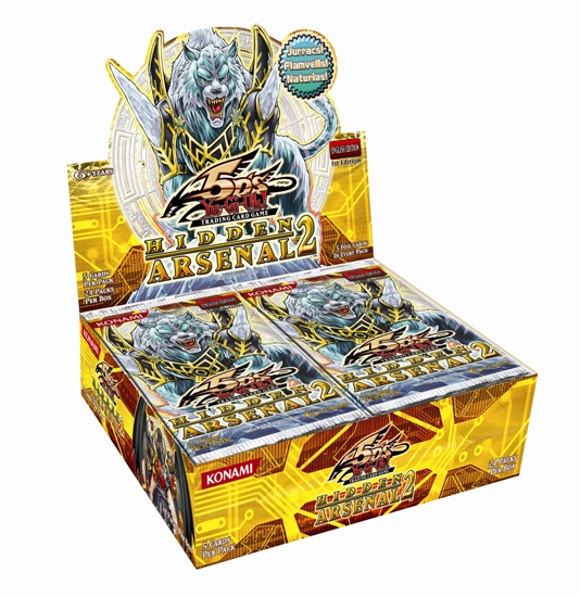 Yu-Gi-Oh Hidden Arsenal #2 1st Edition Booster Box
