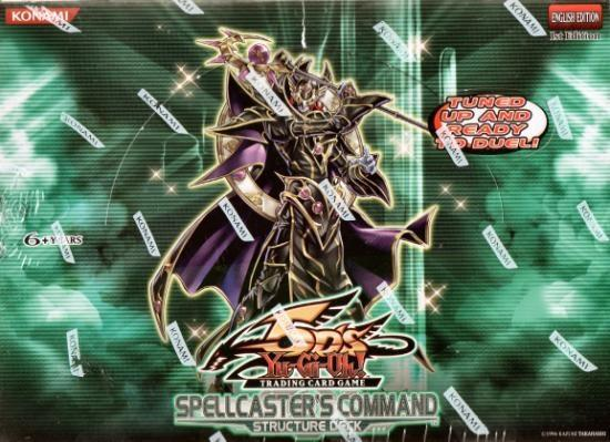 Yu-Gi-Oh Structure Deck: Spellcasters Command Display Box 8ct - 1st Edition