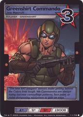 Greenshirt Commando, Joe Recruit