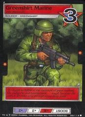 Greenshirt Marine, Joe Recruit
