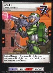 Sci-Fi, Laser Trooper