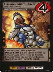 Crimson Guard Driver, Elite Tank Officer