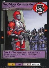 Neo-Viper Commander, Infantry Officer