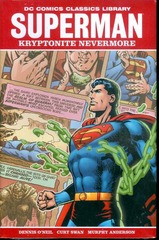 DC LIBRARY SUPERMAN KRYPTONITE NEVERMORE HC