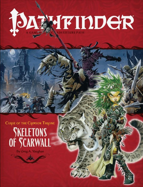 Pathfinder #11 Curse of the Crimson Throne Chapter 5: Skeletons of Scarwall