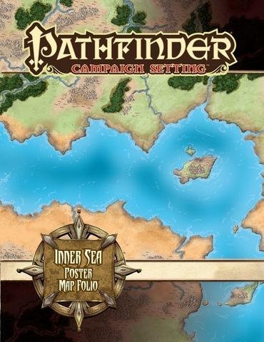 Pathfinder Campaign Setting: Inner Sea Poster Map Folio