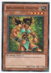 Amazoness Fighter - GLD3-EN005 - Common - Limited Edition