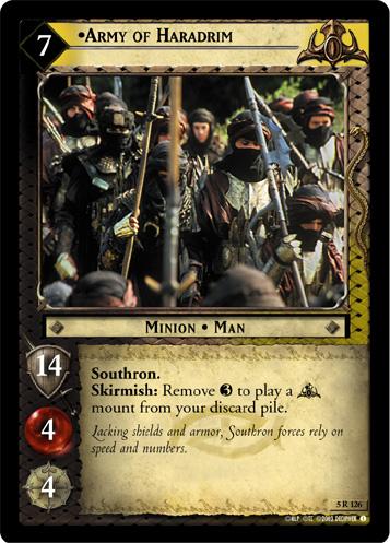 Army of Haradrim - Alternate Image