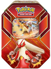 Pokemon Hoenn Power Tin - Blaziken EX