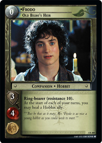 LORD OF THE RINGS CCG FotR  FRODO OLD BILBO/'S HEIR