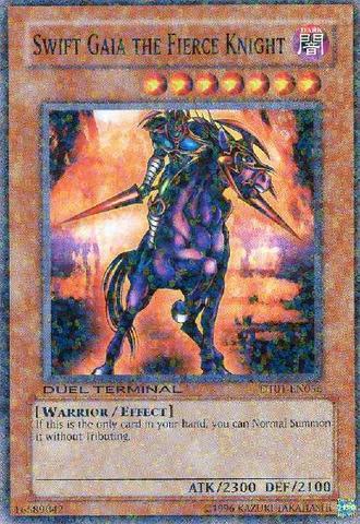 Swift Gaia the Fierce Knight - DT01-EN056 - Common - Duel Terminal