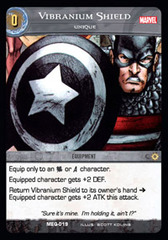 Vibranium Shield, Unique