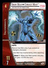 Iron Man  Cobalt Man, Avenger in Disguise