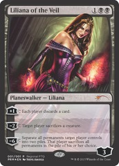 Liliana of the Veil (Regional PTQ Promo Foil)