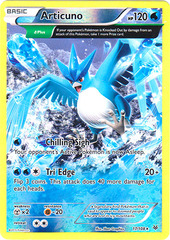 Articuno - 17/108 - Rare - Reverse Holo on Channel Fireball