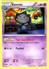 Banette - 31/108 - Rare on Channel Fireball