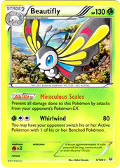 Beautifly - 5/108 - Holo Rare