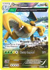 Dragonite - 52/108 - Holo Rare - Reverse Holo on Channel Fireball