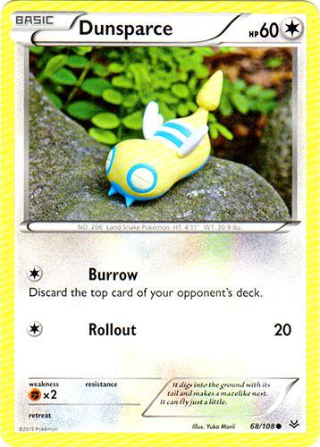 Dunsparce - 68/108 - Common