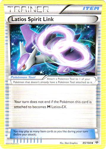 Latios Spirit Link - 85/108 - Uncommon
