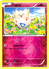 Togepi - 43/108 - Common - Reverse Holo