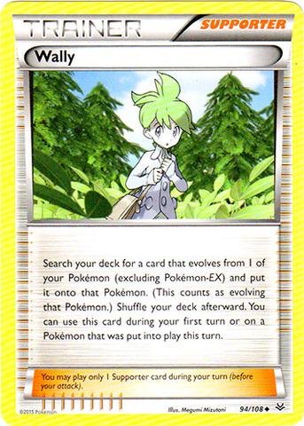 Wally - 94/108 - Uncommon