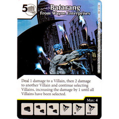 Batarang - From Wayne Enterprises (Die & Card Combo Combo)