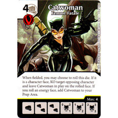 Catwoman - Femme Fatale (Die & Card Combo Combo)