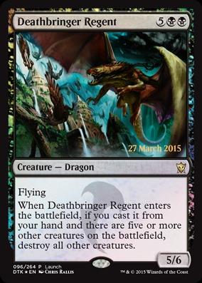 Deathbringer Regent - Foil - Launch Promo