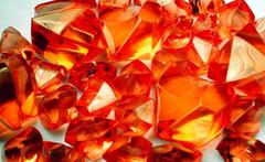 Gaming Crystals: Crystalline Counters (5/25) [Large/Small Red]