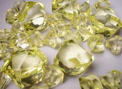 Gaming Crystals: Crystalline Counters (5/25) [Large/Small Yellow]