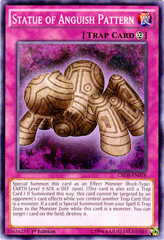 Statue of Anguish Pattern - CROS-EN078 - Common - 1st Edition