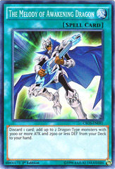 The Melody of Awakening Dragon - CROS-EN091 - Super Rare - 1st Edition