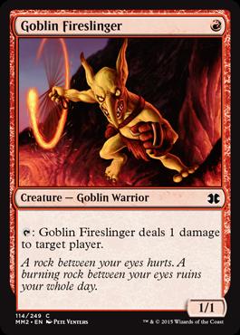 Goblin Fireslinger - Foil