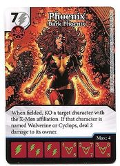 Phoenix: Dark Phoenix - Marvel Dice Masters Promo