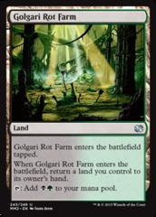 Golgari Rot Farm - Foil (MM2)