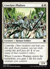Conclave Phalanx on Channel Fireball