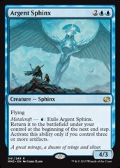 Argent Sphinx on Channel Fireball