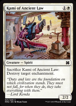 Kami of Ancient Law - Foil