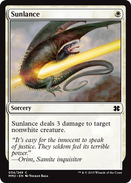 Sunlance - Foil